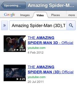 Movie Trailer Search