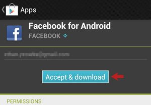 Accept and Download
