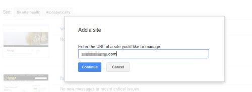 Add a Site