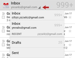 Drop Down Menu in Inbox