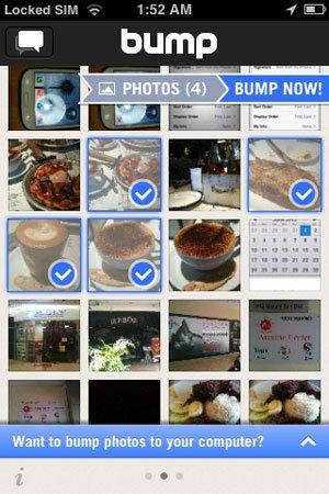 iPhone Bump App