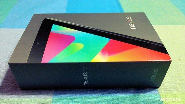 Nexus 7 in Box