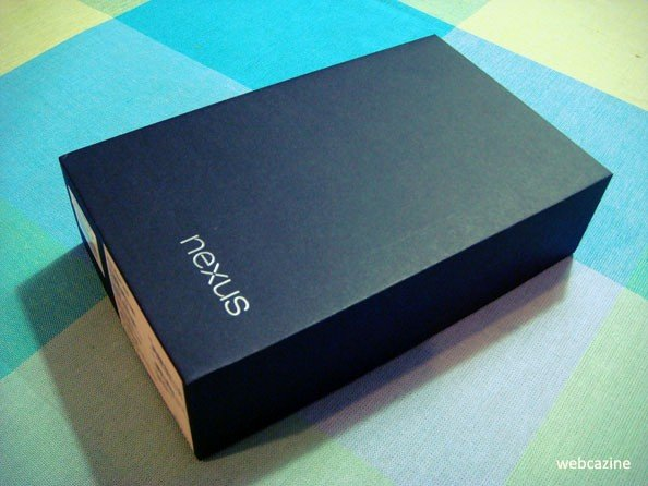 Nexus 7 in Black Box