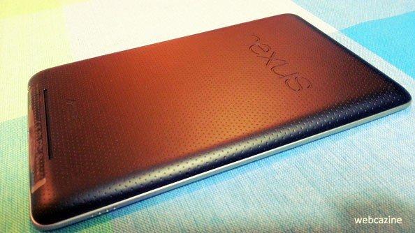 Nexus 7 Rear View