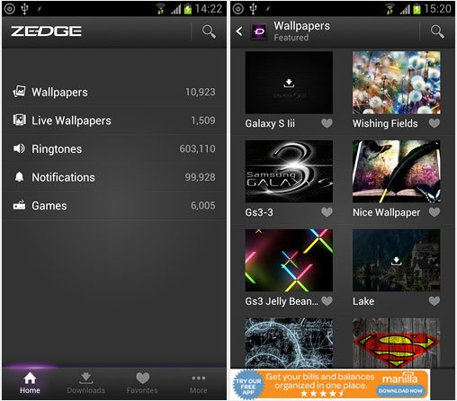[App] Zedge: Free Wallpapers, Ringtones and Notifications for Your Android Phone - WEBCAZINE