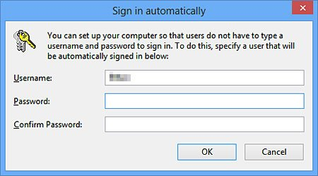how to start windows 8 without password
