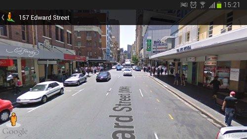 google map edward street