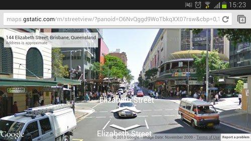 google map elizabeth street