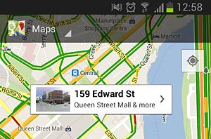 map info box