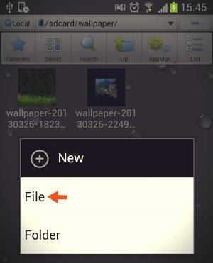 new es file explorer window