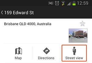 street view option