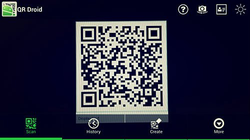 How to Scan QR Code with Samsung Galaxy S4 ? - WEBCAZINE