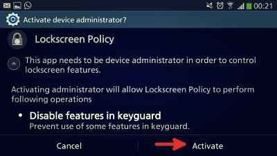 How to remove unread message widget on Galaxy S4/Note 3 ...