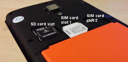 redmi card slots