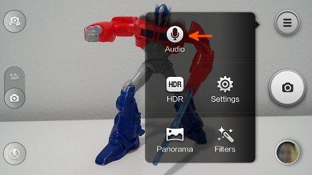 redmi camera voice command