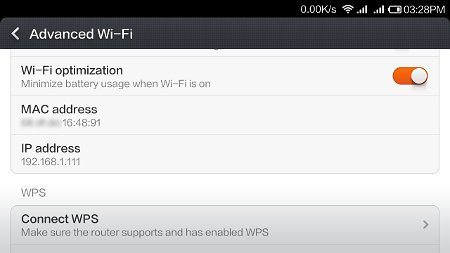 How to find MAC and IP addresses on your Redmi ? - WEBCAZINE