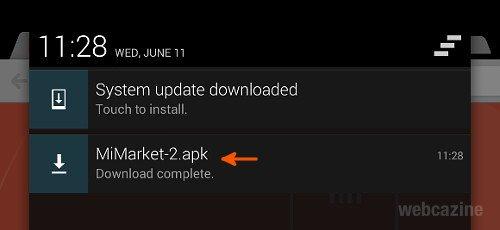 install mi market_5