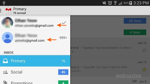 how to delete gmail account from samsung galaxy s5