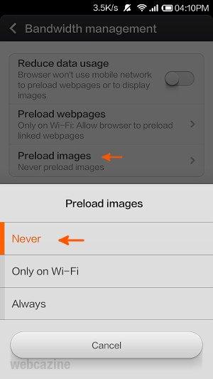 mi browser reduce data usage_2