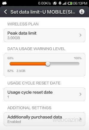 xiaomi data usage_3