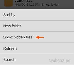 xiaomi  hidden folder_2