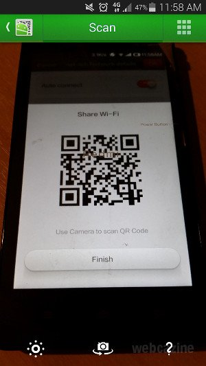 How to connect to Wi-Fi networks automatically by reading QR