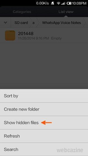 hide whatsapp folders_2