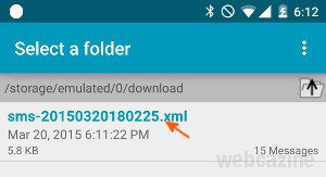 android5 backup sms_3