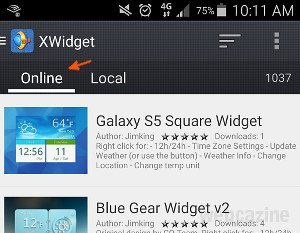 How To Get The Galaxy S6 Weather Clock Widget On Your Android