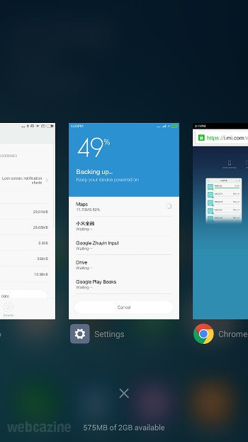 Q&A (MIUI 7): How to enable the iOS style app switcher on my Xiaomi