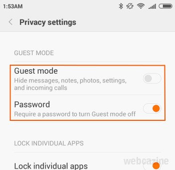 MIUI 7: How to turn Guest Mode on or off on your Xiaomi
