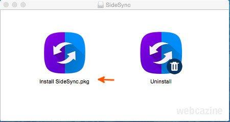sidesync pour mac