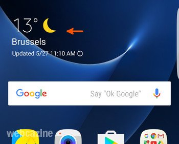 Q&A (Galaxy S7 Edge): Where do find the Weather app? - WEBCAZINE
