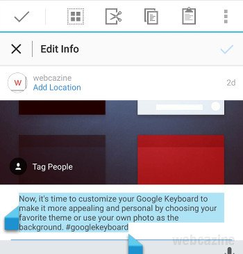 Q&A: How to copy captions and comments in Instagram for