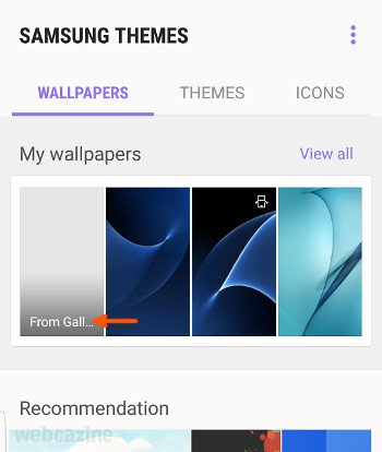 Galaxy S7 Edge How To Set Multiple Wallpapers On The Lock Screen