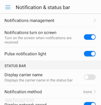 honor8 display carrier name