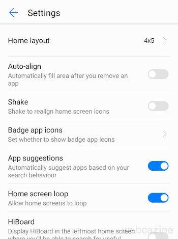 honor8 home screen loop