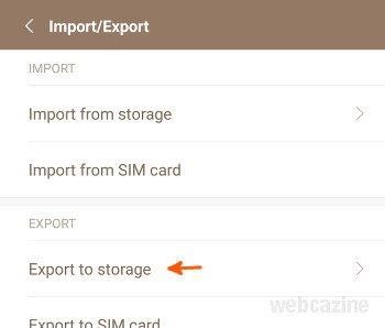 miui8 export mi contacs_1
