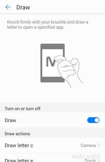 draw option