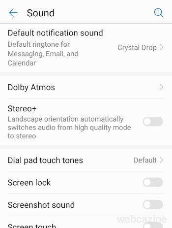 screenshot sound