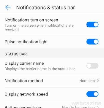 display network speed