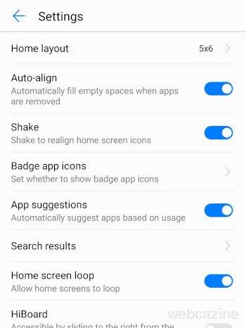home screen loop