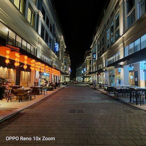 OppoReno Night Shot