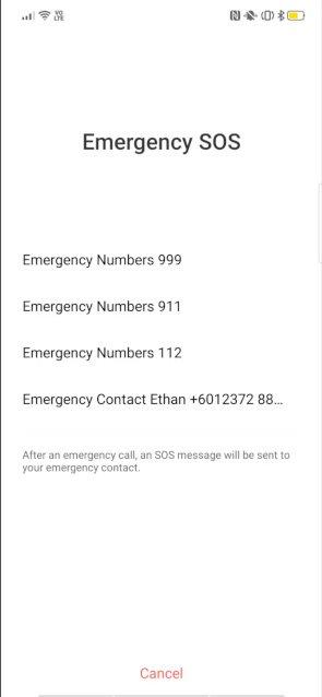 Emergency SOS 2