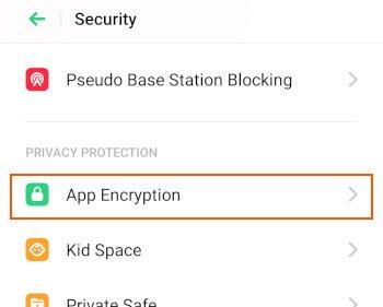 OppoReno_App_Encryption
