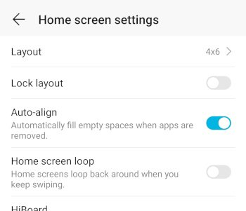 HonorPlay Auto Align Button