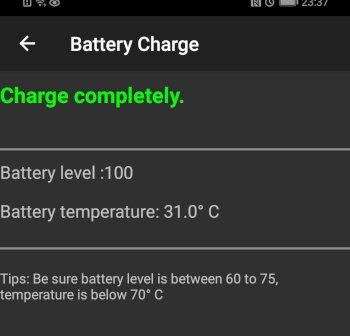 HonorPlay Battery Information