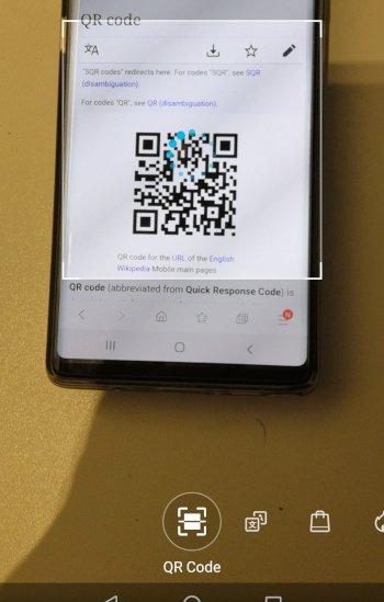 HonorPlay QR Code Scanner
