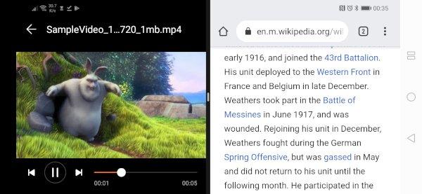 HonorPlay Split Mode