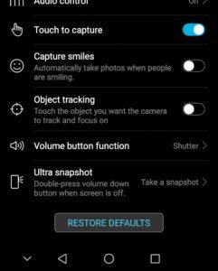 HonorPlay_Ultra_Snapshot_Option